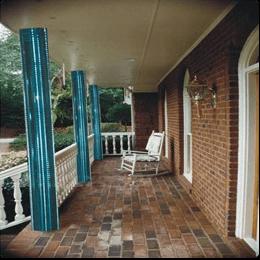 glass columns   applications   exterior