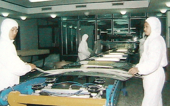 Glass Laminated Windshield Production Line Assembly