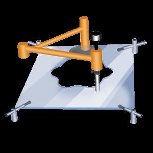 how to shape cut glass