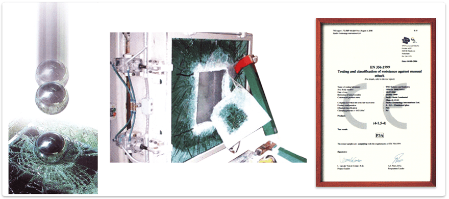 Liquid Resins for Glass Lamination - Features - Safety Standards