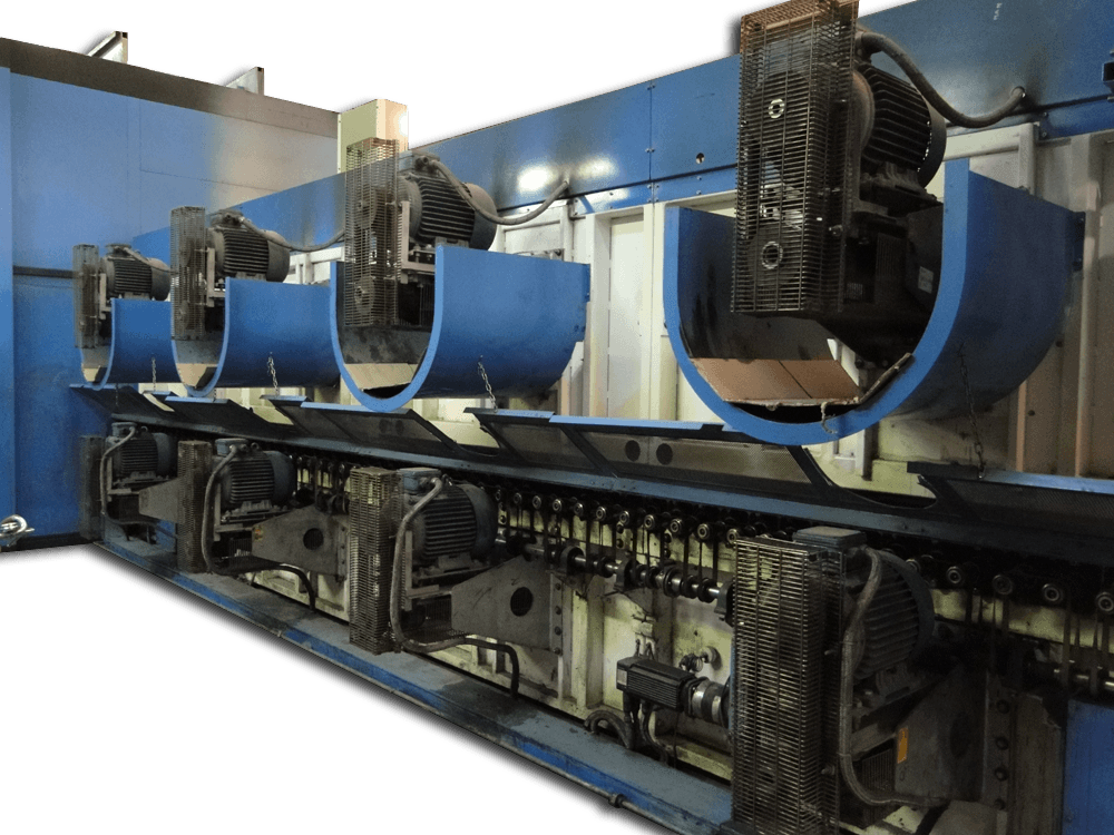 Combo Convection Amp Irradiation Glass Tempering Furnace