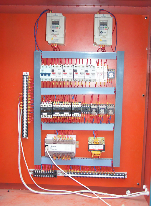 High Quality ELectrical Control Parts Components Of Vertical Glass Washer